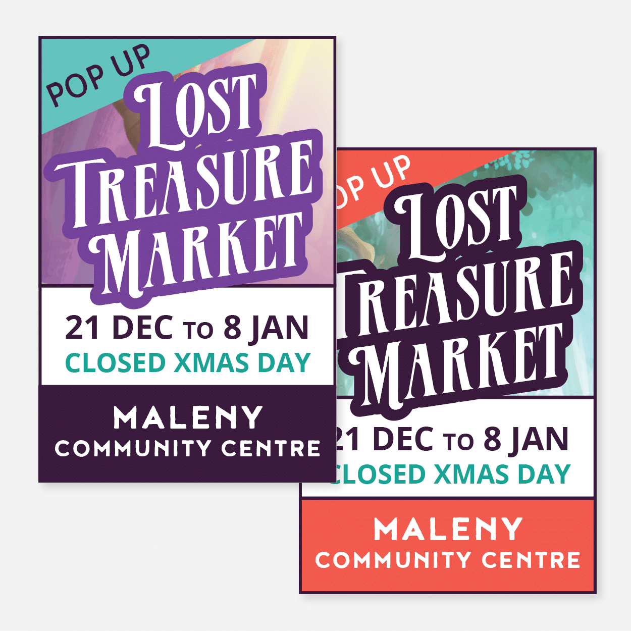 Print Graphics: Lost Treasure Markets