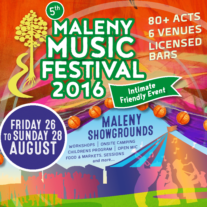 Event Collateral: Maleny Music Festival
