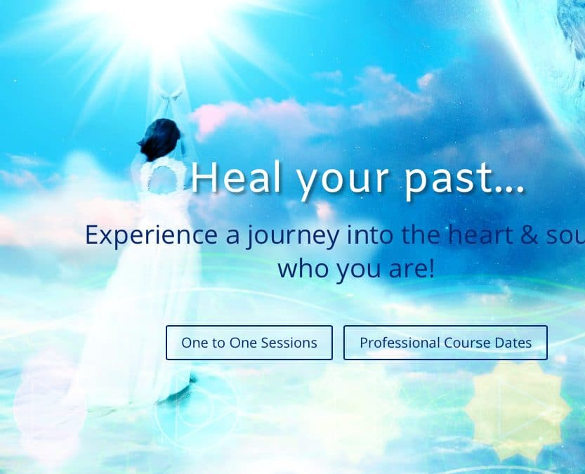 Logo and Website: Past Life Regression Hypnosis
